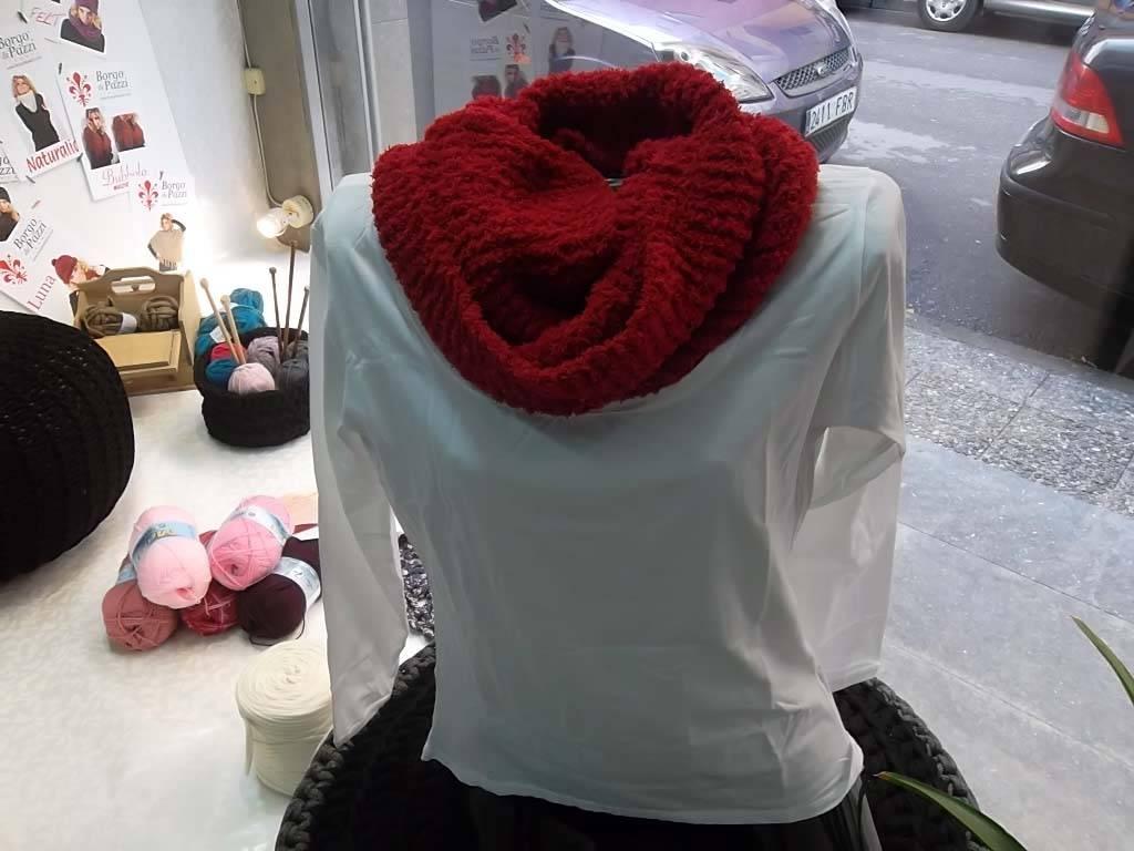 Bufanda vermella